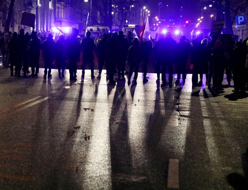 Strajk w Warszawie po publikacji wyroku TK w sprawie aborcji/ zdjęcie ilustracyjne / Jakub Kamiński    /East News