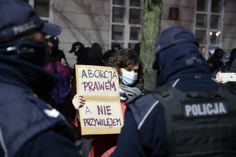 Strajk w Warszawie /Piotr Molecki /East News