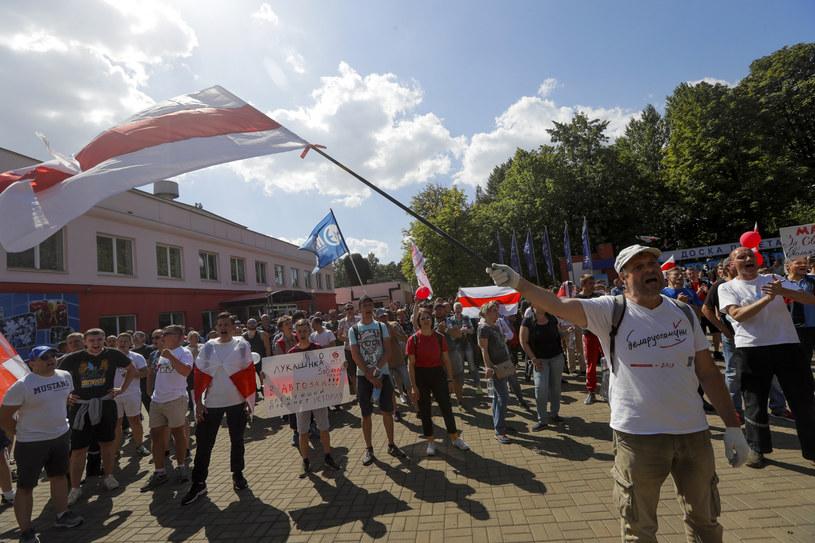 Strajki na Białorusi /Associated Press /East News