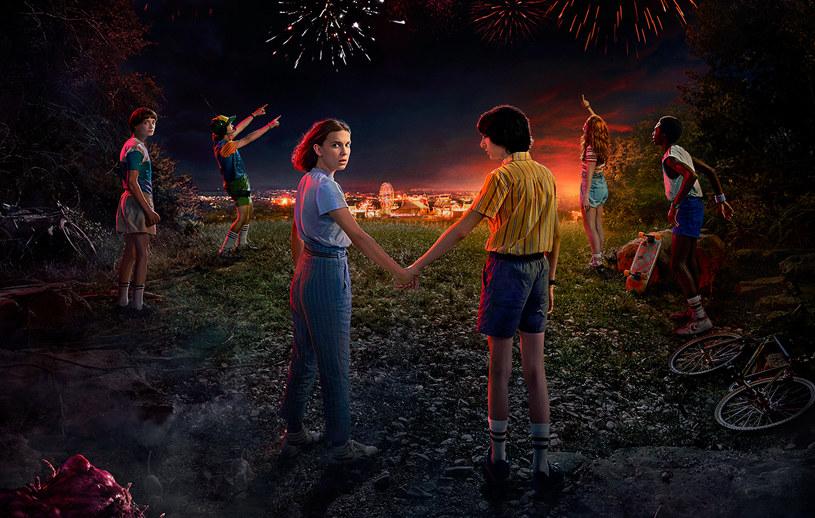 """""""Stranger Things"""", plakat promujący sezon trzeci /Netflix /materiały prasowe"""