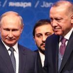 """""""Strategiczne partnerstwo"""". Putin i Erdogan zainaugurowali gazociąg Turecki Potok"""