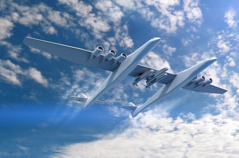 Stratolauch to samolot, który wyniesie na orbitę rakiety /materiały prasowe
