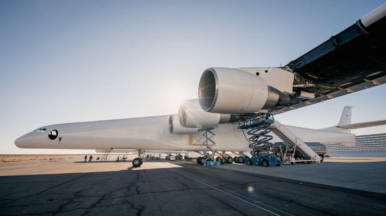 Stratolauch to samolot, który wyniesie na orbitę rakiety /Stratolaunch (Dylan Schwartz) /Internet