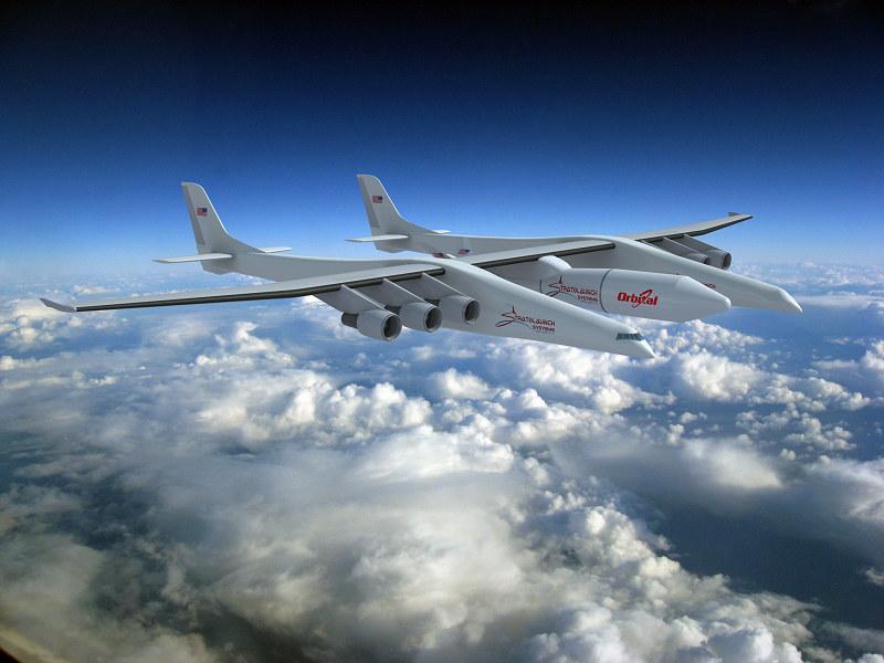 Stratolaunch to największy samolot na świecie /materiały prasowe