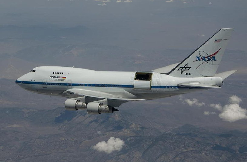 Stratospheric Observatory for Infrared Astronomy (SOFIA) /NASA