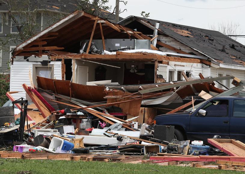 Straty po huraganie Laura sięgnęły 19 mld dol. /AFP