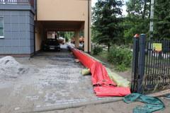 Straty po powodzi w Szczyrzycu
