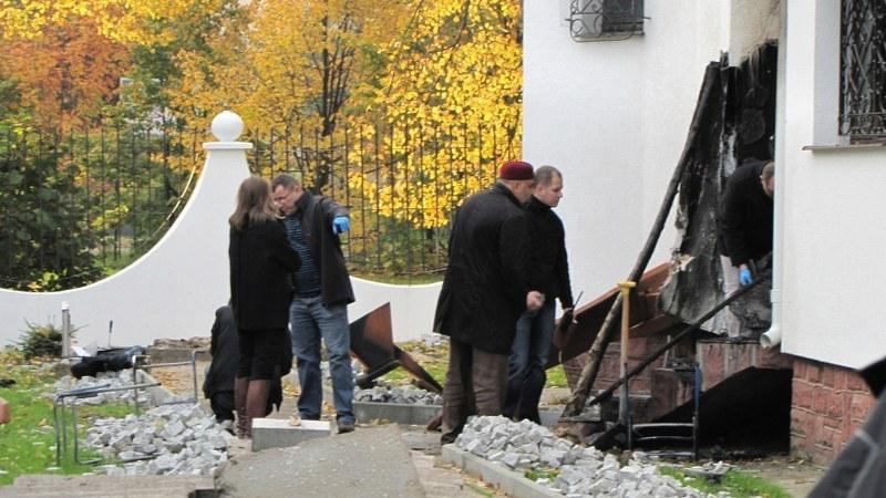 Straty po pożarze wynoszą kilkadziesiąt tysięcy złotych. /Dariusz Proniewicz /RMF FM