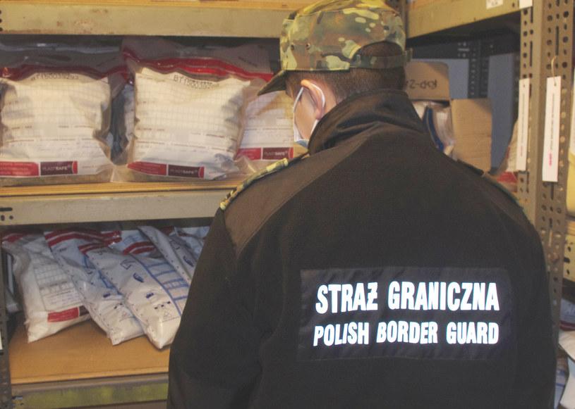 Straż graniczna przejęła narkotyki warte blisko 2 mln złotych /MOSG /Straż Graniczna