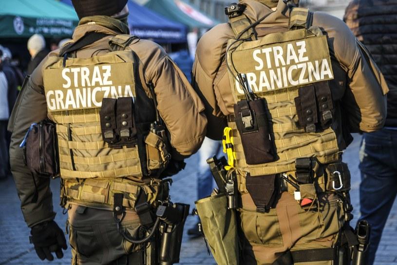 Straż Graniczna (zdjęcie ilustracyjne) /Beata Zawrzel /Reporter