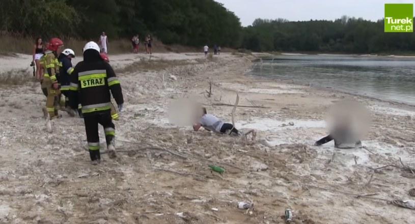 Straż pospieszyła na ratunek; za tuek.net.pl /YouTube