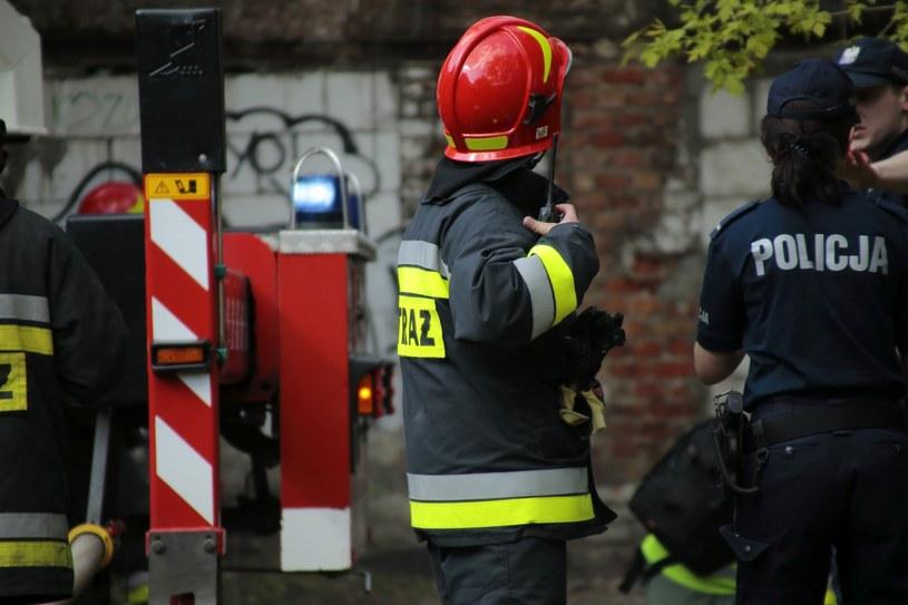 Straż pożarna i policja; zdj. ilustracyjne /Adam Jankowski /Reporter