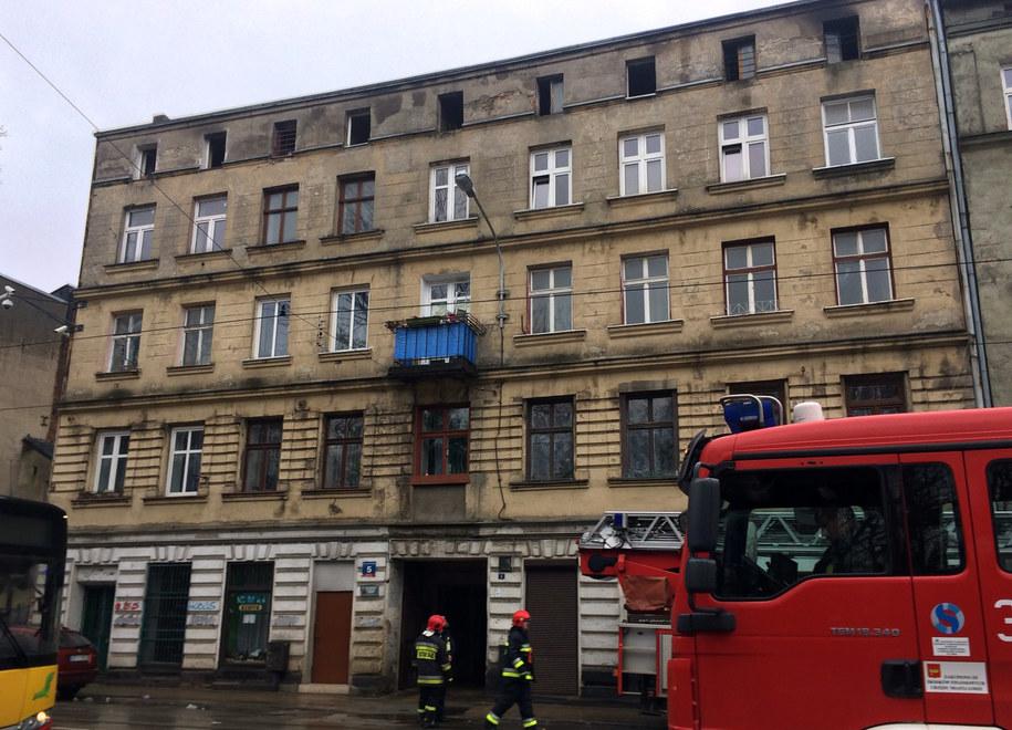 Straż pożarna na miejscu zdarzenia /Agnieszka  Wyderka /RMF FM