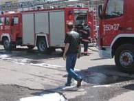 Straż pożarna zabezpiecza miejsce eksplozji /RMF