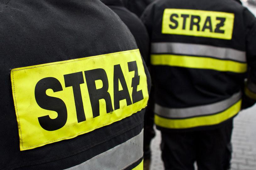 Straż pożarna zabezpieczyła miejsce zdarzenia (zdjęcie ilustracyjne) /Tomasz Adamowicz /Agencja FORUM