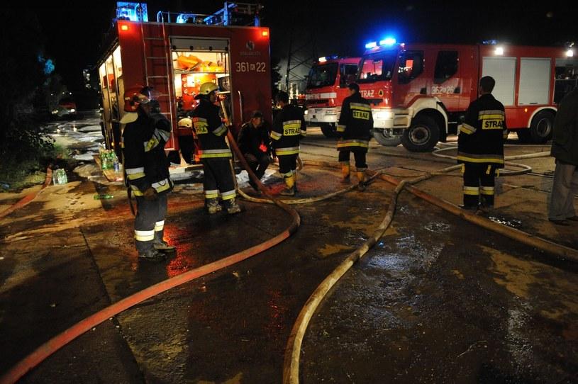 Straż pożarna, zdj. ilustracyjne /Koniarz /Reporter