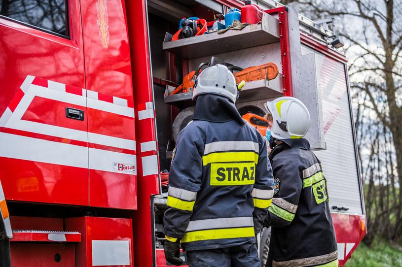 Straż pożarna, zdjęcie ilustracyjne /Marcin Bruniecki/ Reporter /Reporter