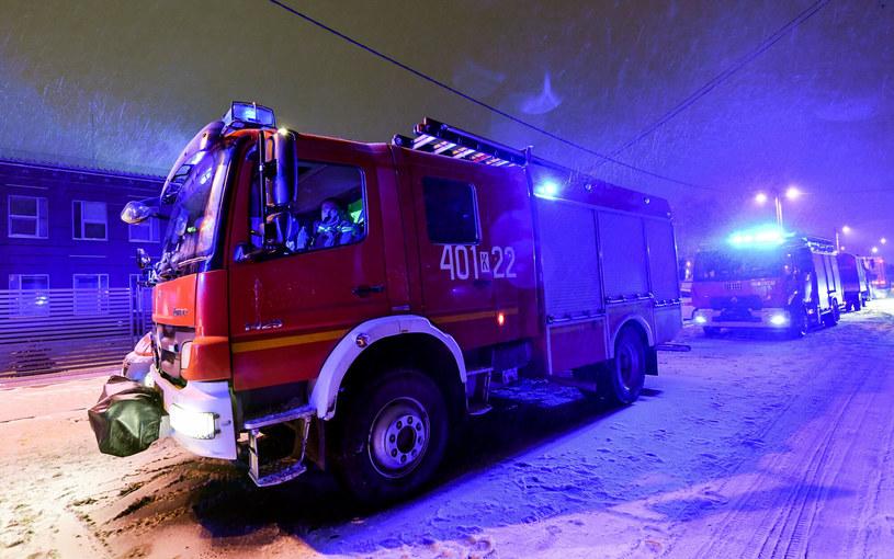 Straż pożarna, zdjęcie ilustracyjne /Artur BARBAROWSKI/East News /East News