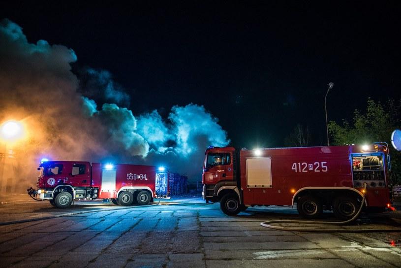 Straż pożarna /Hubert Adamczyk /Reporter