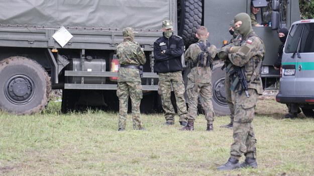 Straż przy granicy polsko-białoruskiej /Kuba Rutka /RMF FM