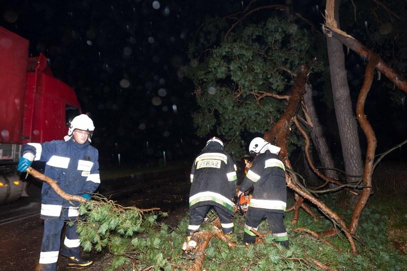 Strażacy mieli sporo pracy /Marek Maliszewski  /Reporter