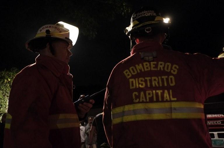 Strażacy na miejscu tragedii /AFP