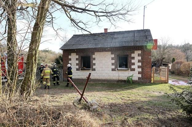 Strażacy na miejscu zdarzenia /Tomasz Wojtasik /PAP
