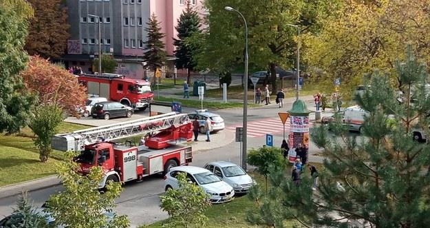 Strażacy na miejscu zdarzenia /Katarzyna Wójcik /RMF FM