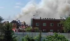 """Strażacy nadal gaszą pożar w Przysiece Polskiej. """"Musimy całkowicie rozebrać hałdy"""""""