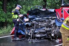 Strażacy po zderzeniu Audi: Takie sytuacje to codzienność!