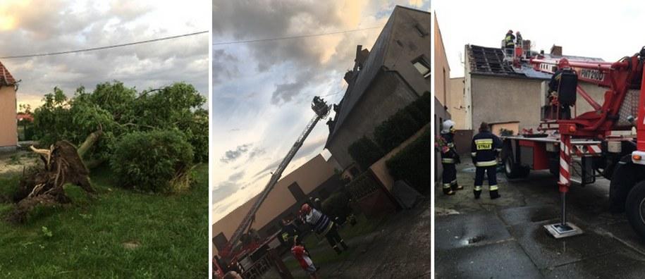 Strażacy usuwają skutki nawałnic /Gorąca Linia RMF FM