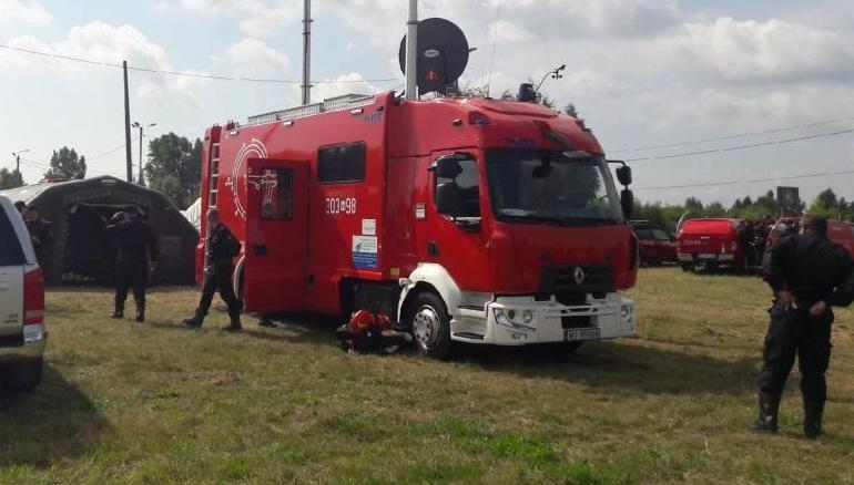 Strażacy w Gassach /PSP