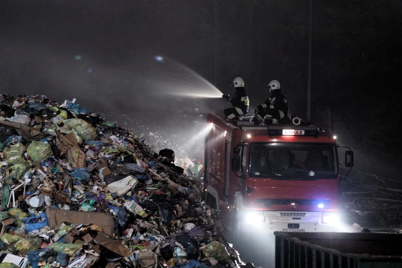 Strażacy w Studziankach /Artur Reszko /PAP