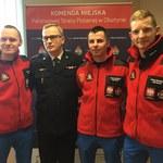 Strażacy z Olsztyna ruszają w góry Kaukazu. Po doświadczenie