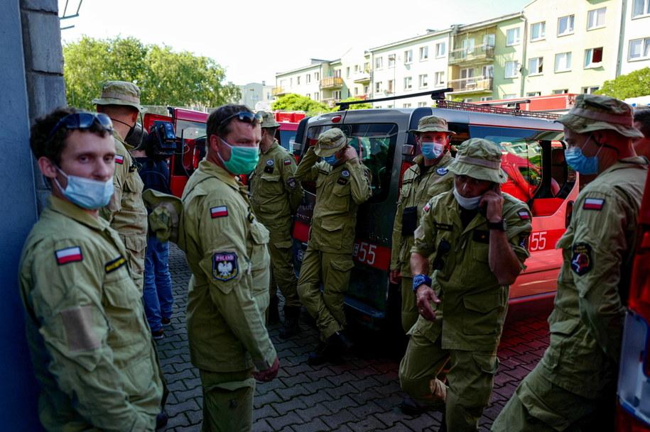Strażacy z Polski lecą do Libanu /Mateusz Marek /PAP