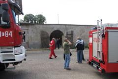 Strażacy zakończyli akcję na dworcu kolejowym w Zwierzynie