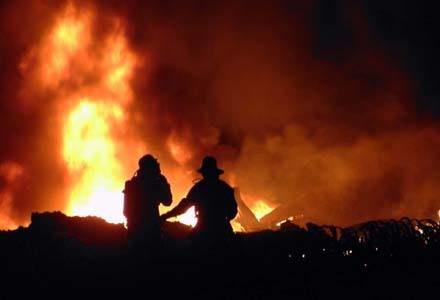 Strażacy zrobili wszystko, co w ich mocy /AFP