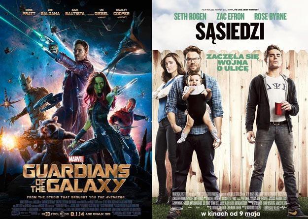 """""""Strażnicy Galaktyki"""" oraz komedia """"Sąsiedzi"""" to faworyci tegorocznych MTV Movie Awards /materiały dystrybutora"""