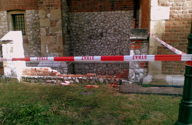 Strażnicy ujęli sprawcę zniszczenia kościoła św. Krzyża /Straż Miejska