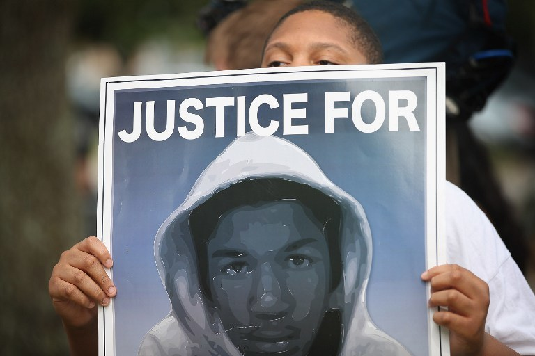 Strażnik zastrzelił nieuzbrojonego czarnego 17-latka Trayvona Martina /AFP