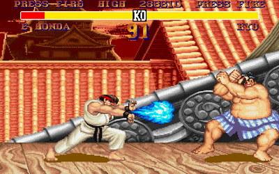 Street Fighter II w akcji /INTERIA.PL