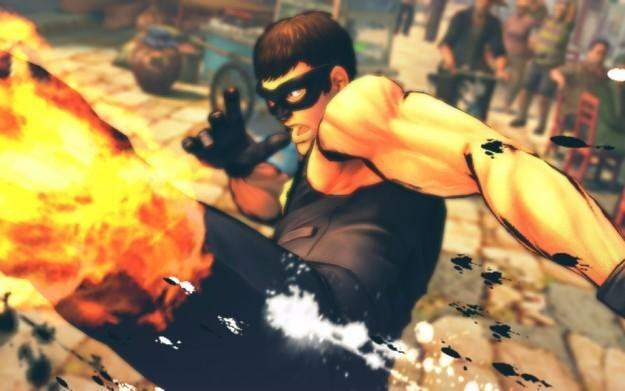 Street Fighter IV - motyw graficzny /Informacja prasowa
