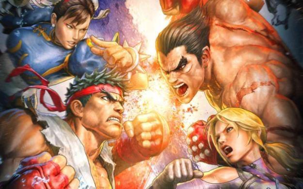 Street Fighter X Tekken - motyw graficzny /Informacja prasowa