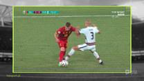 Strefa Euro 12:00. Błędy sędziego Brycha w meczu Belgia - Portugalia były rażące? Wideo