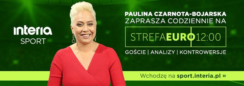 Strefa Euro 12:00 codzienny program o piłce /interia /materiały prasowe
