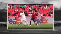 Strefa Euro 12:00 - Jak poradzili sobie sędziowie w ostatniej kolejce grupy D? Wideo