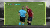 Strefa Euro 12:00. Kontrowersje sędziowskie w meczu Czechy - Dania.