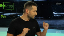 Strefa Euro 12:00. Sebastian Staszewski zaśpiewał w programie! Co to był za utwór?