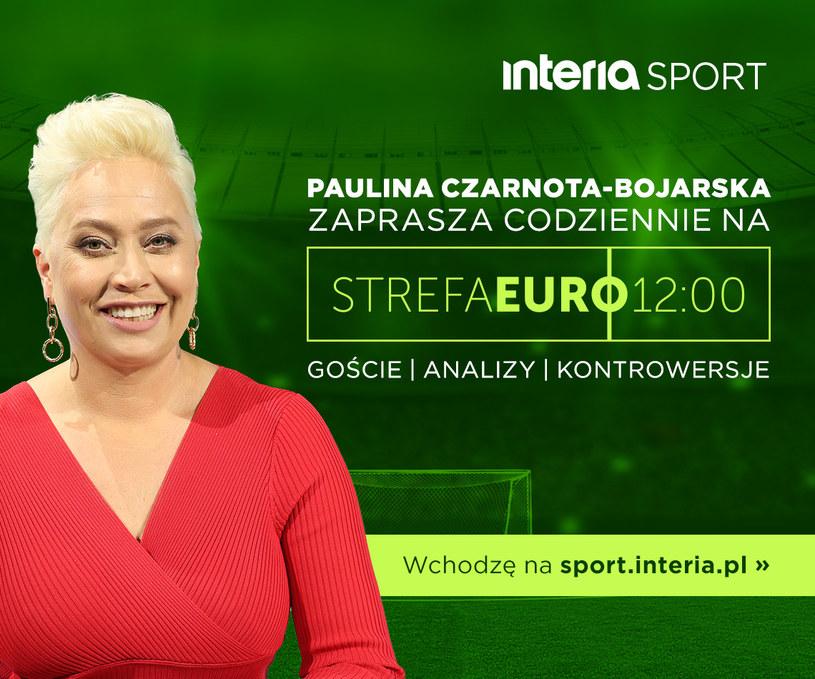 """""""Strefa Euro 12:00"""" zaprasza codziennie /INTERIA.PL"""