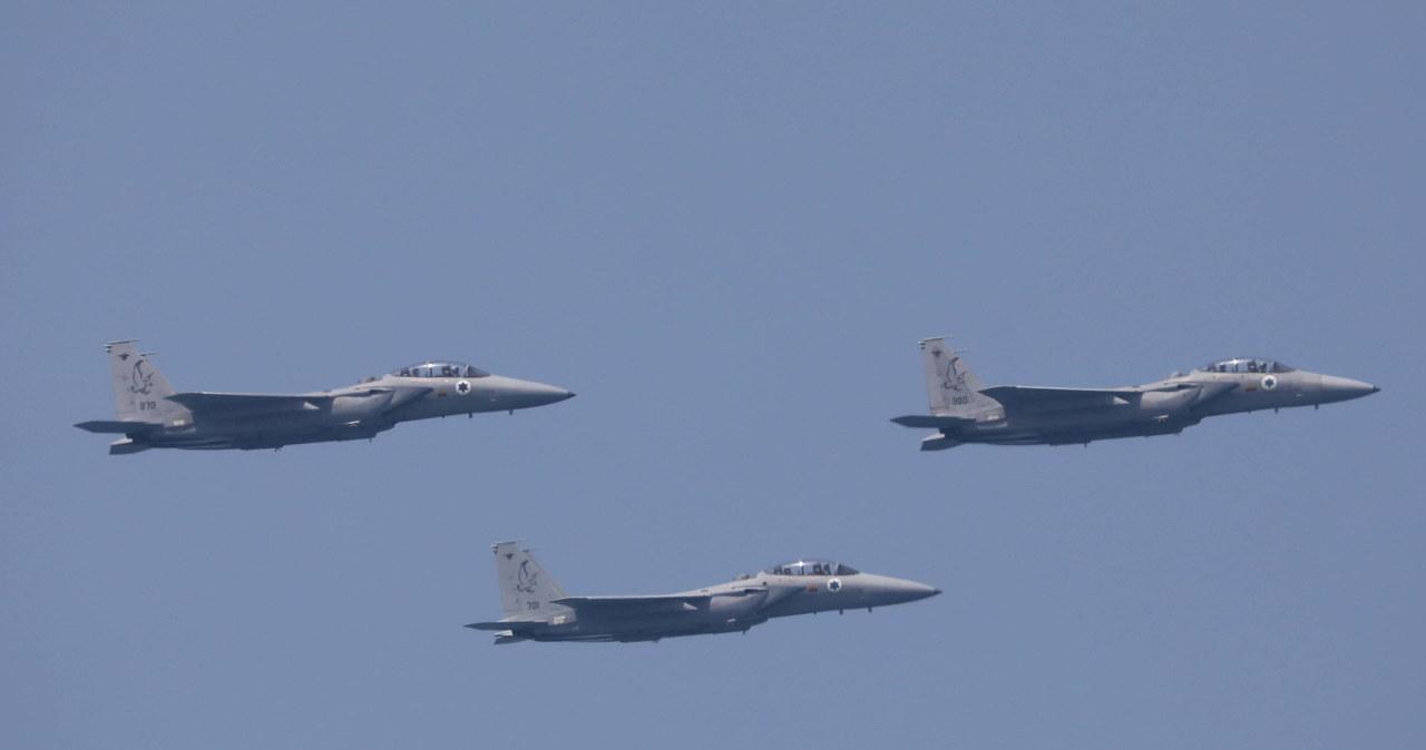 Strefa Gazy. Siły powietrzne Izraela ponownie zaatakowały cele Hamasu